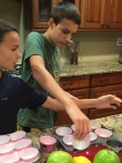 Baking with my boys!